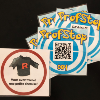 The new ProfStops with hidden clues!